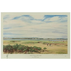 Golf Print, St Andrews 'High Hole' by Arthur Weaver