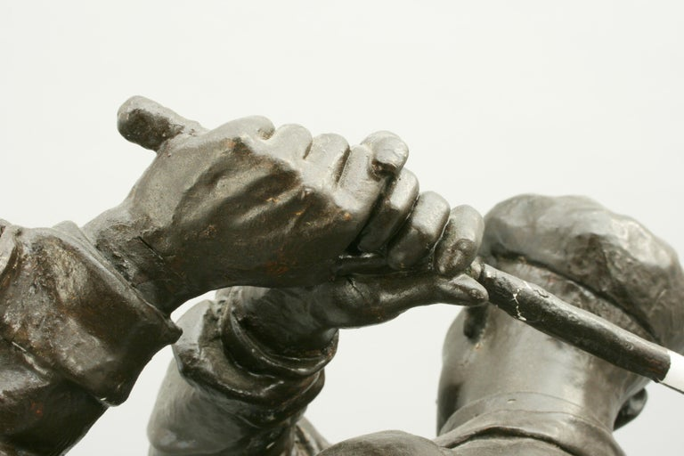Golf Sculpture, Harry Vardon In Excellent Condition For Sale In Oxfordshire, GB