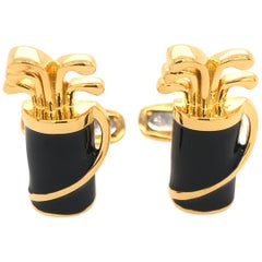 Golf Set Cuff Link for Men