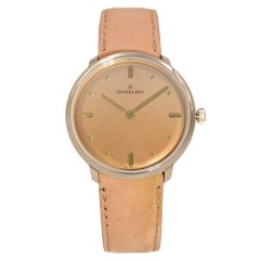 Gomelsky Audrey 6 Gold Tone Steel Tan Dial Quartz Ladies Watch G0120147278