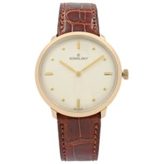 Gomelsky Audry Gold Tone Steel White Dial Quartz Womens Watch G0120112284