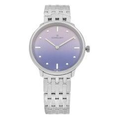Gomelsky Audry Steel Blue Dial Quartz Ladies Watch G0120147280