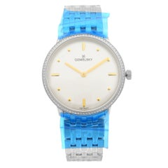 Gomelsky Audry Steel White Dial Quartz Ladies Watch G0120112281
