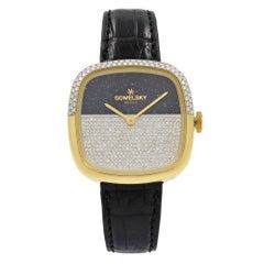 Gomelsky Eppie 1 Sneed Steel Diamond Two-Tone Dial Women's Watch G0120083085