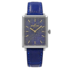 Gomelsky Shirley Fromer Stainless Steel Lapis Blue Dial Womens Watch G0120023381