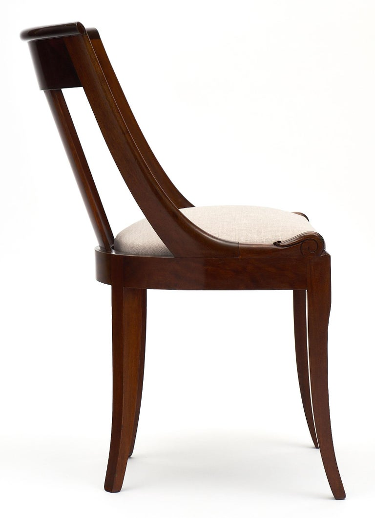 Gondola Empire Style Dining Chairs For Sale 1