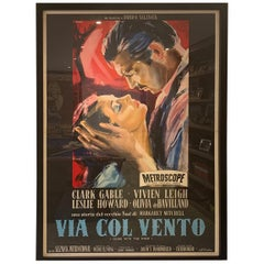 Gone With The Wind '1956r' Poster