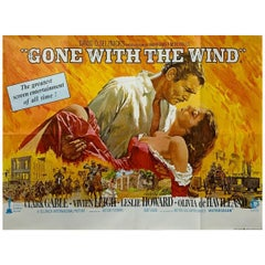 Gone With The Wind '1969r' Poster