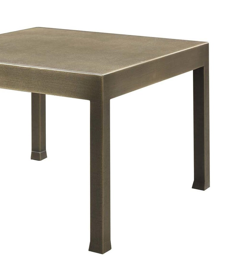 Italian Gong Small Table by Promemoria For Sale