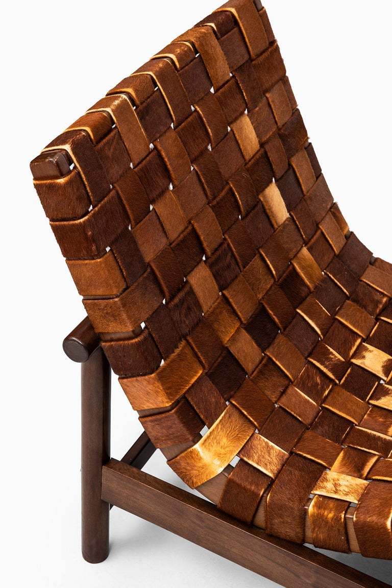 Mid-20th Century Gonzalo Cordoba Easy Chair Model Guama by Dujo in Cuba For Sale