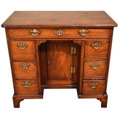 Good George II Solid Walnut Kneehole Desk