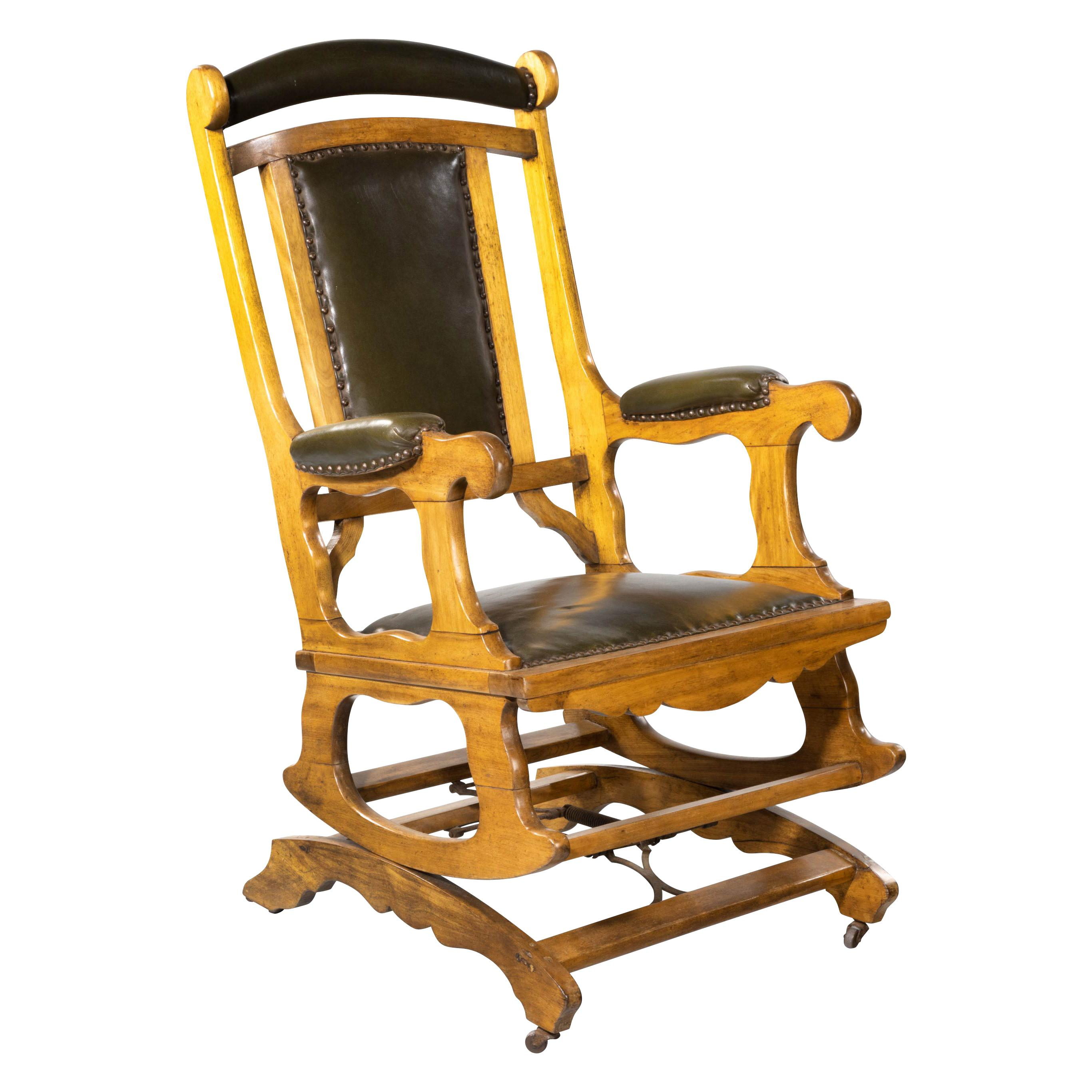Awesome 19Th Century Rocking Chairs 78 For Sale At 1Stdibs Andrewgaddart Wooden Chair Designs For Living Room Andrewgaddartcom