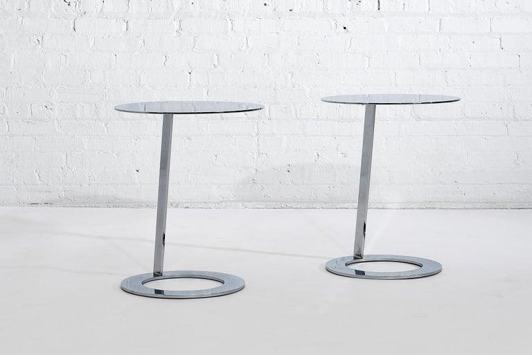 Post-Modern Good Morning Pedestal Tables Ligne Roset For Sale