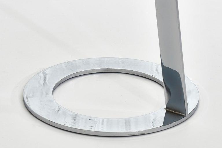Steel Good Morning Pedestal Tables Ligne Roset For Sale
