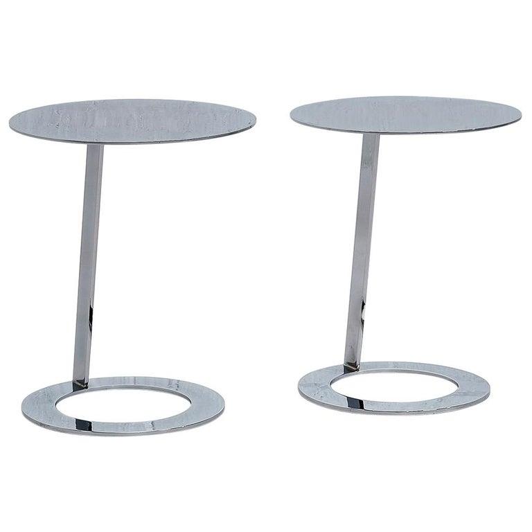 Good Morning Pedestal Tables Ligne Roset For Sale
