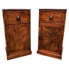 Good Pair of Regency Mahogany Pedestals