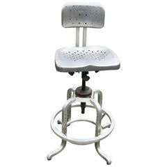 GoodForm Stool by General Fireproofing Federal Reserve Tag