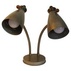 Goose Neck 'Double' Lamp