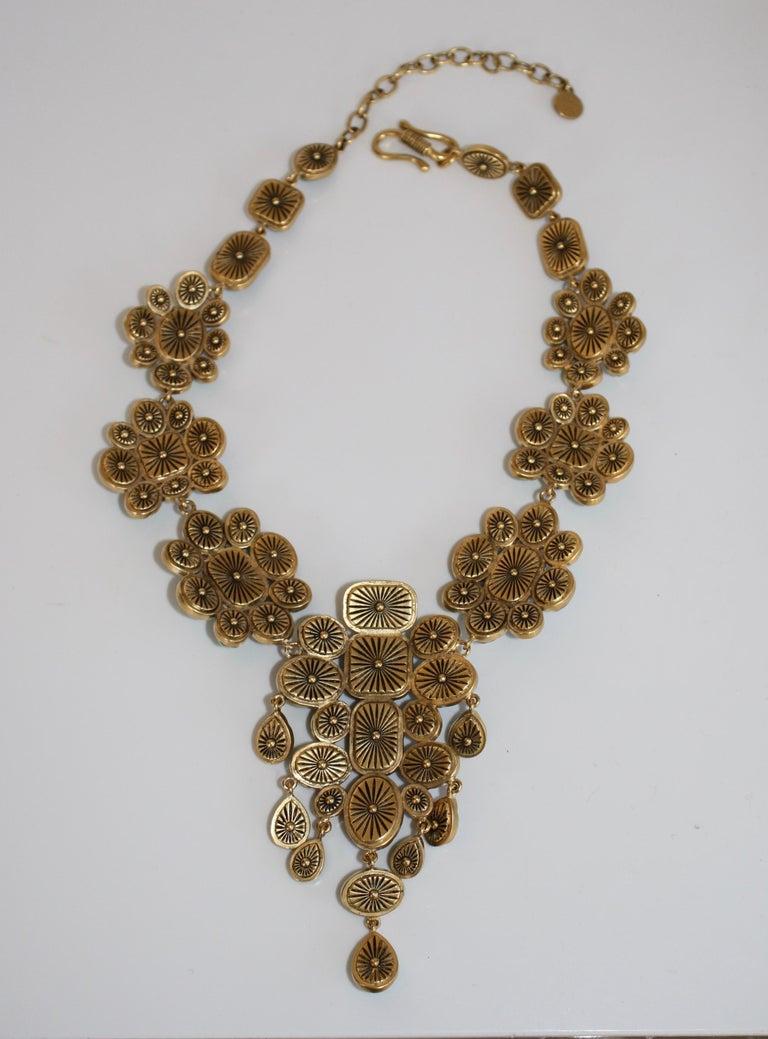 Women's Goossens Paris Cocktail Cabochon Necklace For Sale