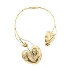 Goossens Paris Lily Pad Necklace