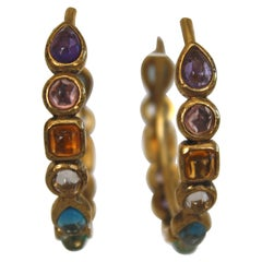 Goossens Paris Mini Cabochons Hoops