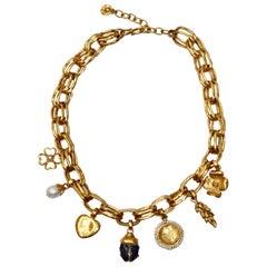 Goossens Paris Talisman Charm Necklace