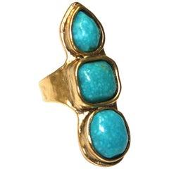 Goossens Paris Turquoise Ring