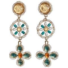 Goossens Paris Venice Pierced Earrings