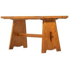 Göran Malmvall Dining Table in Pine by Svensk Fur in Sweden