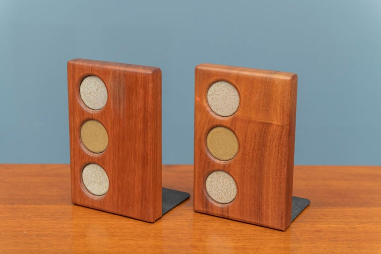 Gordon and Jane Martz Bookends for Marshall Studios In Good Condition For Sale In San Francisco, CA