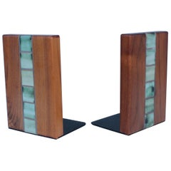 Gordon and Jane Martz Bookends