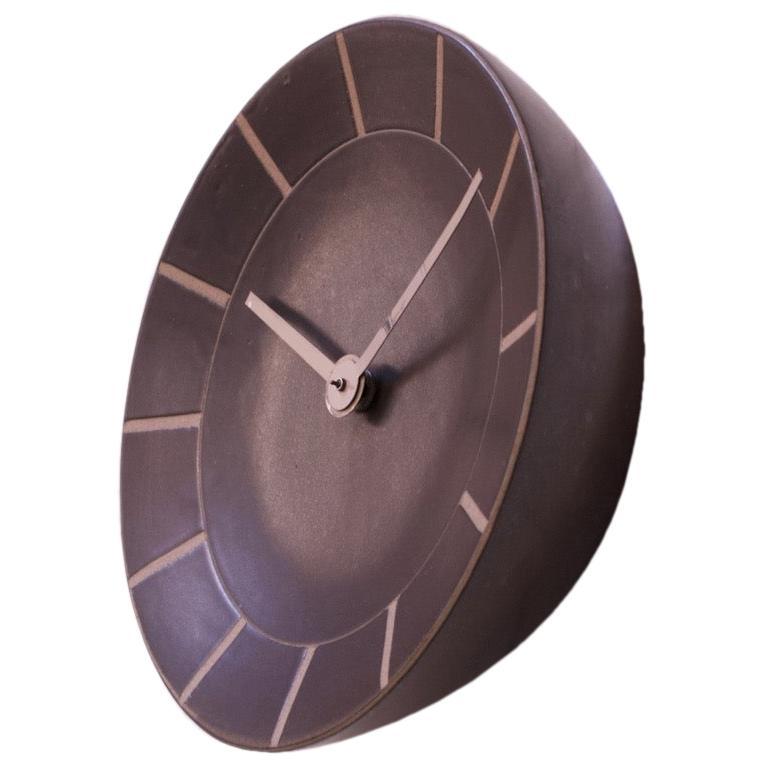 Gordon and Jane Martz for Marshall Studios Stoneware Wall Clock