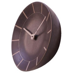 Gordon and Jane Martz for Marshall Studios Stoneware Wall Clock