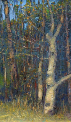 """""""Aspen Grove"""", Oil Painting"""