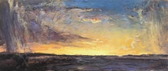 """""""Sunset Storm"""", Oil Painting"""