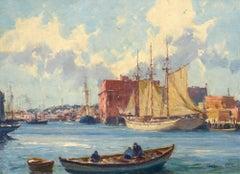 Fishermen at Harbor