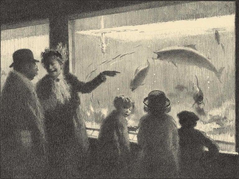 Gordon Grant Animal Print - Aquarium