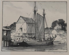 Old Coaster, Lithograph by Gordon Grant