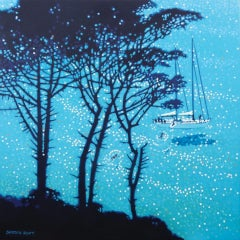 Gordon Hunt, A sailing Break, Contemporary Seascape Art, Affordable Art