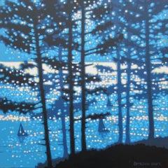 Gordon Hunt, Sailing By, Seascape Art, Affordable Art, Original Painting