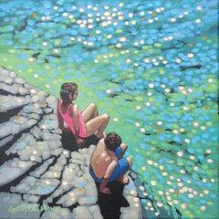 Gordon Hunt, Let's go, Seascape Art, Cornish Art, Affordable Art, Art Online