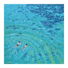 Gordon Hunt, Wild Swim, Seascape Art, Affordable Art, Art Online