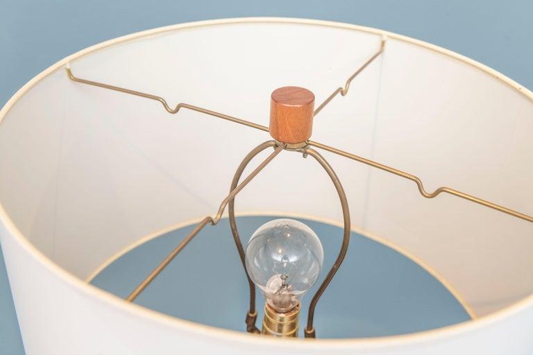 Mid-Century Modern Gordon & Jane Martz Ceramic Table Lamp For Sale