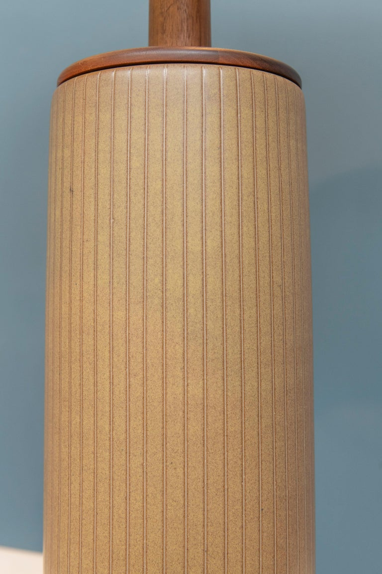 Gordon & Jane Martz Ceramic Table Lamp In Good Condition For Sale In San Francisco, CA