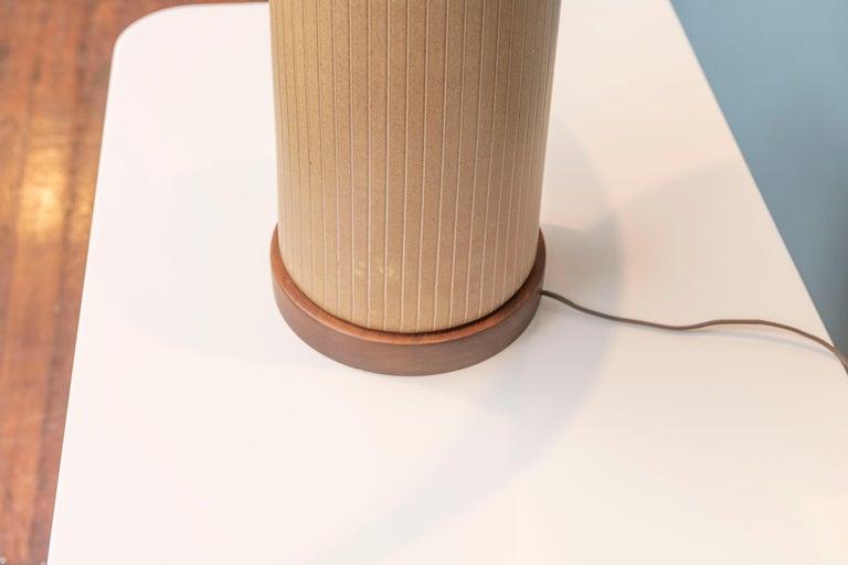 Mid-20th Century Gordon & Jane Martz Ceramic Table Lamp For Sale