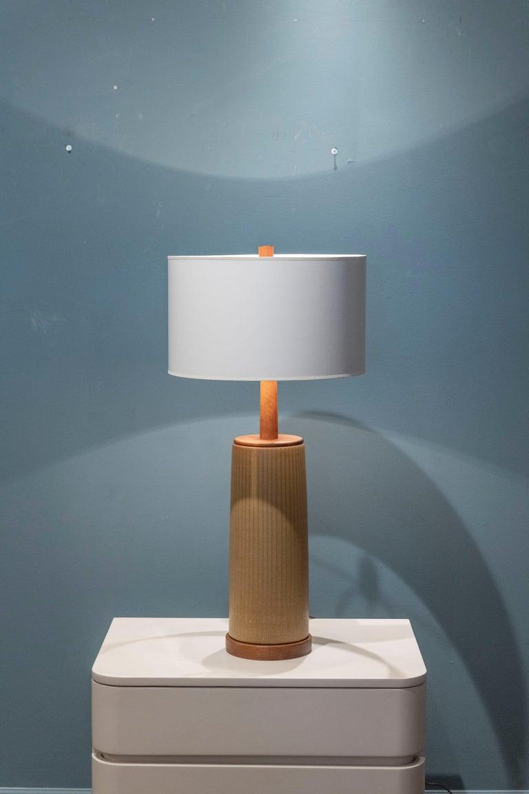 Gordon & Jane Martz Ceramic Table Lamp For Sale 1