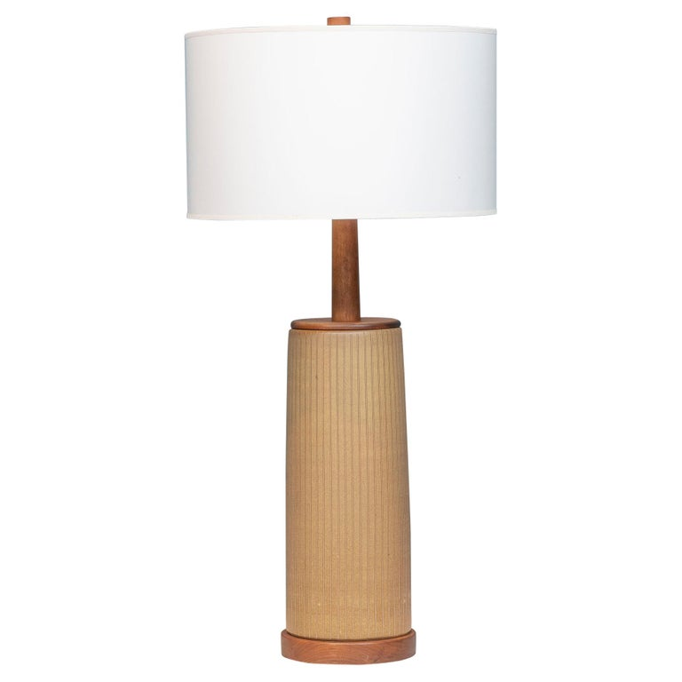 Gordon & Jane Martz Ceramic Table Lamp For Sale