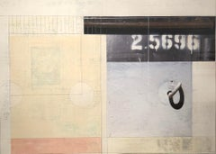"""mixed media, """"2.5696"""" (Collage, Abstraction, Color Field)"""