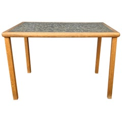 Gordon Martz Ceramic Tile Top Side Table for Marshall Studios