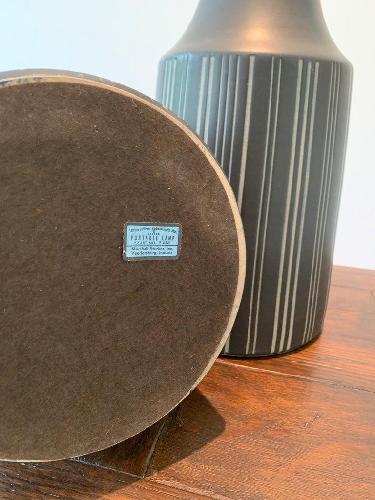 Gordon Martz & Jane Marshall Martz Ceramic Table Lamps For Sale 1